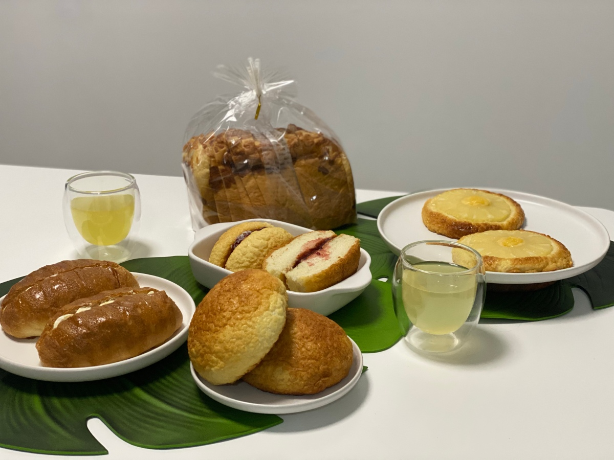 Snackable baked goodies from Breadtalk, SM EastOrtigas