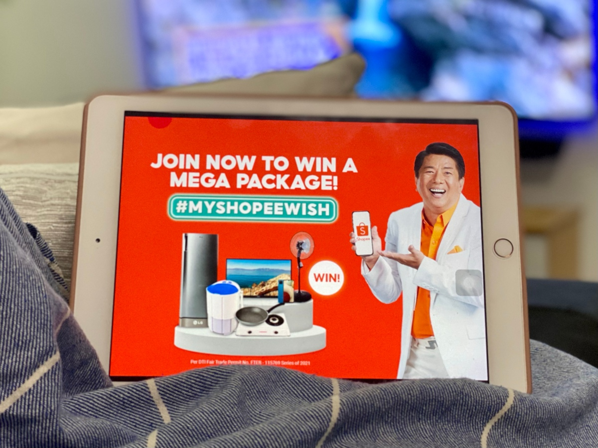 Want to win a Home Appliance and Gadgets bundle from Shopee?