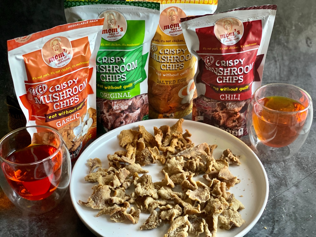 Guiltless snacking with Mom's Haus of Mushroom