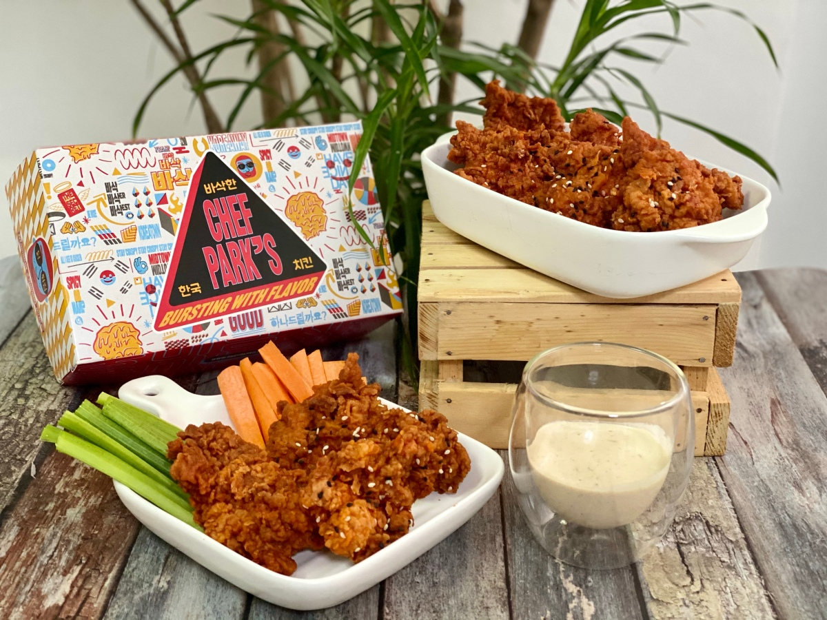 K-Chicken munchies with Chef Park's newest flavor: KoreanBuffalo!