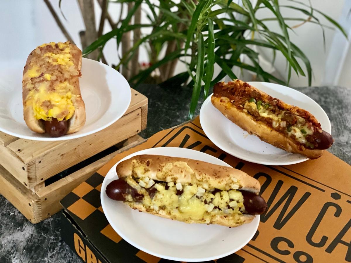 A taste of NY hotdogs from YellowCab