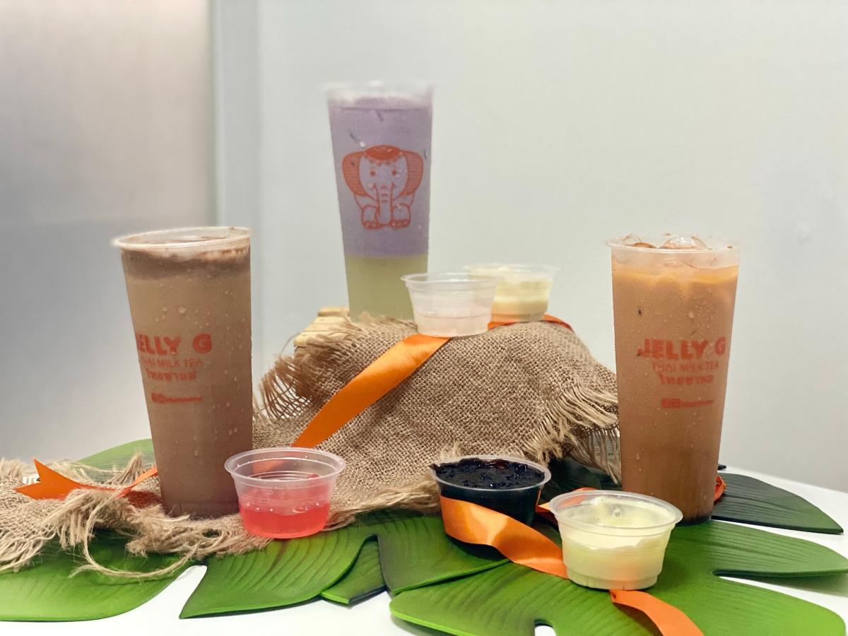 Enjoy Thai milk tea at home with JellyG