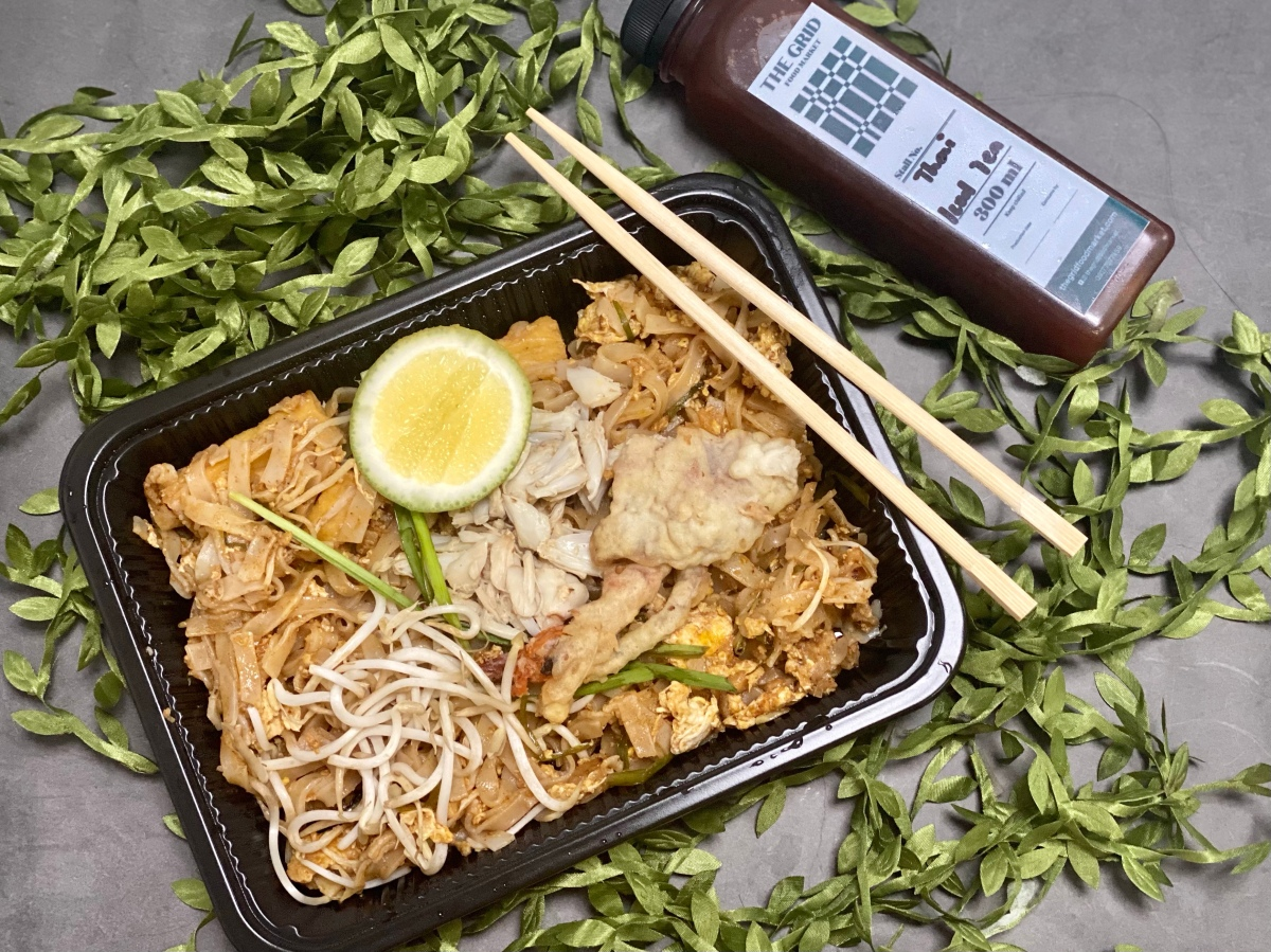 Authentic Pad Thai from The Pad by Samyan, now available fordelivery