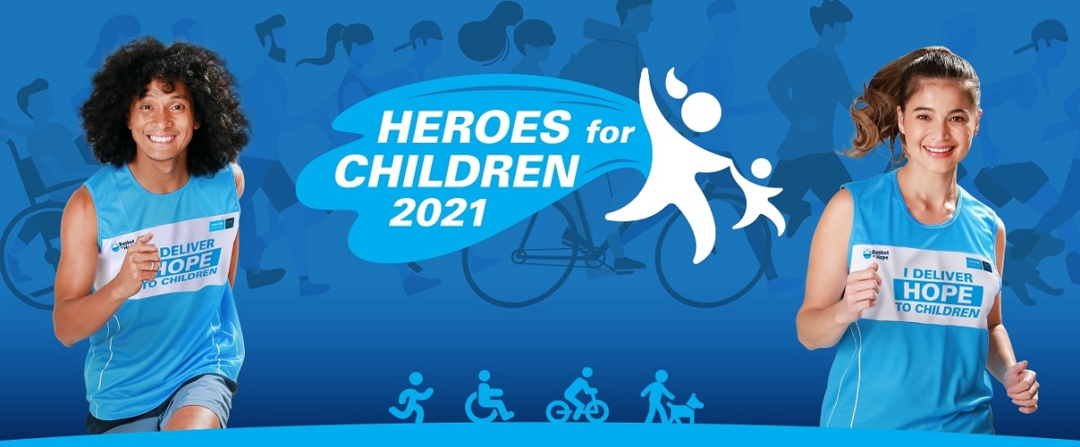 Heroes for Children: Step up and deliverhope